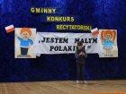 III Gminny Konkurs Recytatprski pt. ˝Jestem małym Polakiem˝
